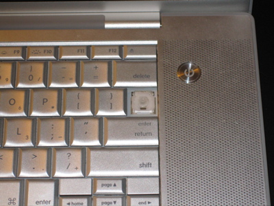 backslash key